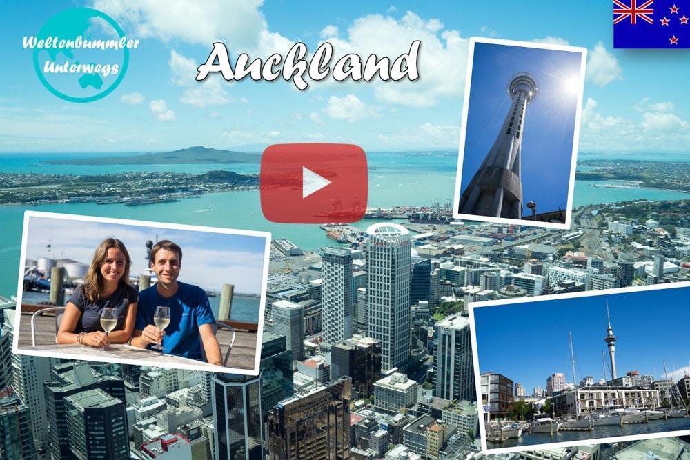 Weltreise Vlog #44: Auckland ∙ Unser Spaziergang durch die größte Metropole Neuseelands