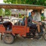 Battambang ∙ Per Tuk Tuk & Fahrrad durch die Reisfelder zu den Killing Caves ∙ Kambodscha