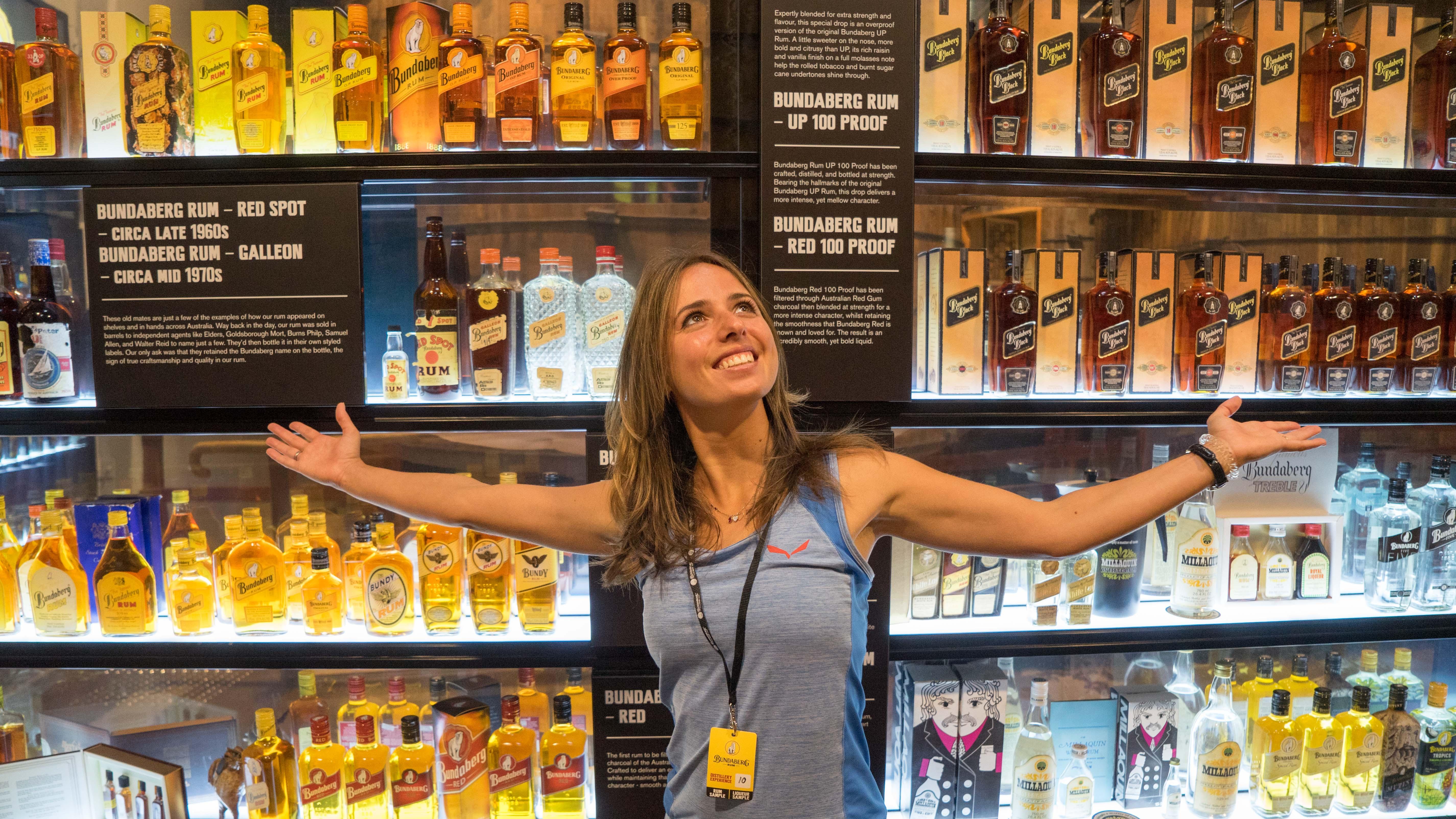 Australien: Leckerer Rum und Ingwerbier in Bundaberg
