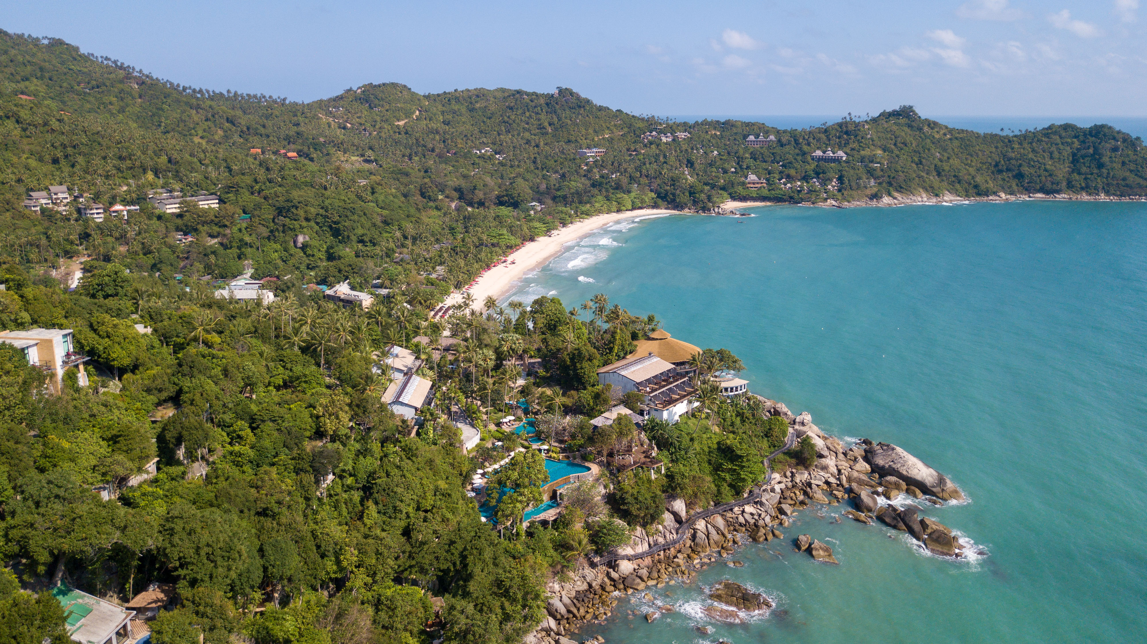 Koh Phangan ∙ Sonne, weiße Strandstrände und ein wenig Luxus ∙ Thailand