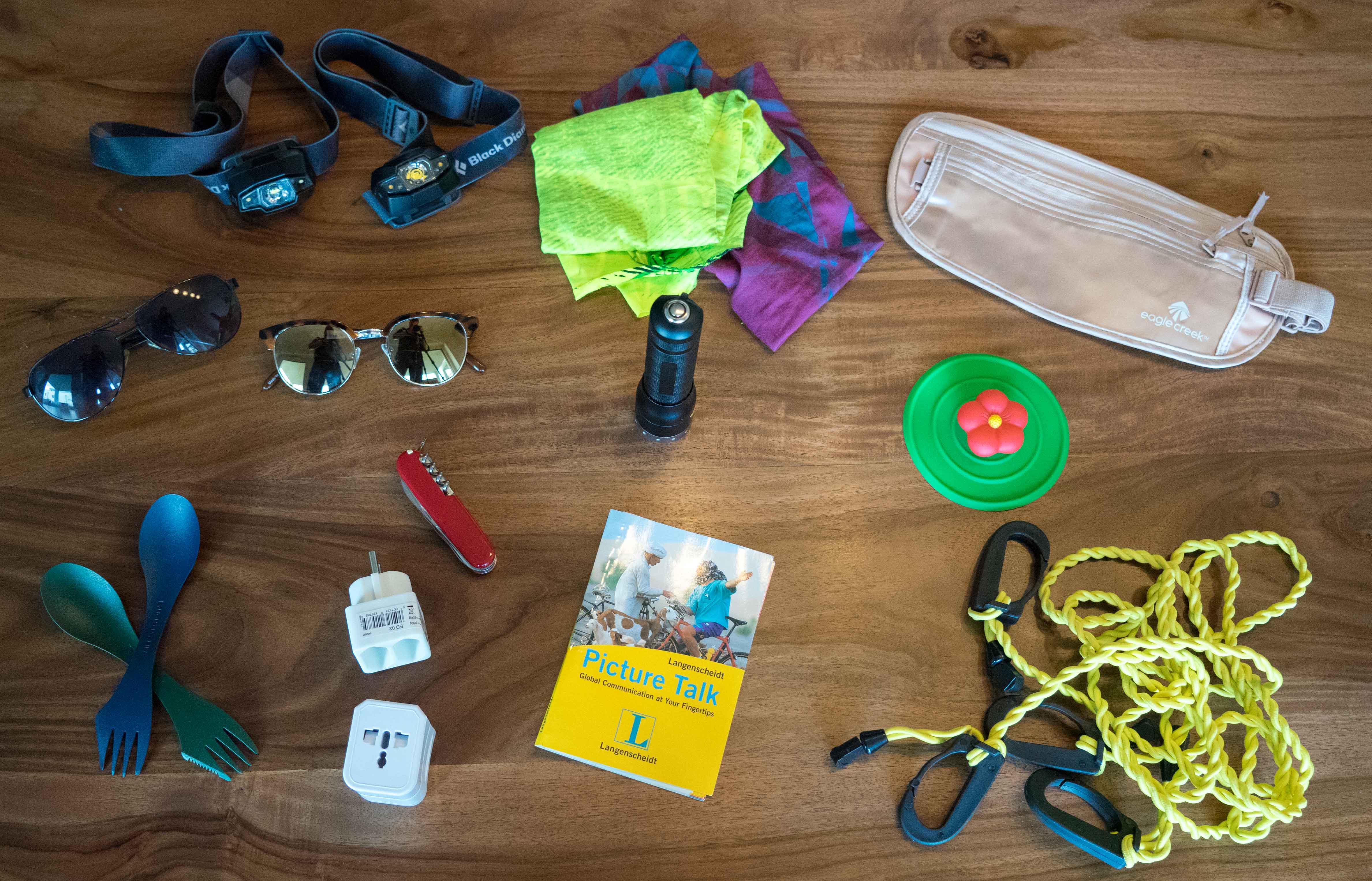 Packliste Nützliche Dinge