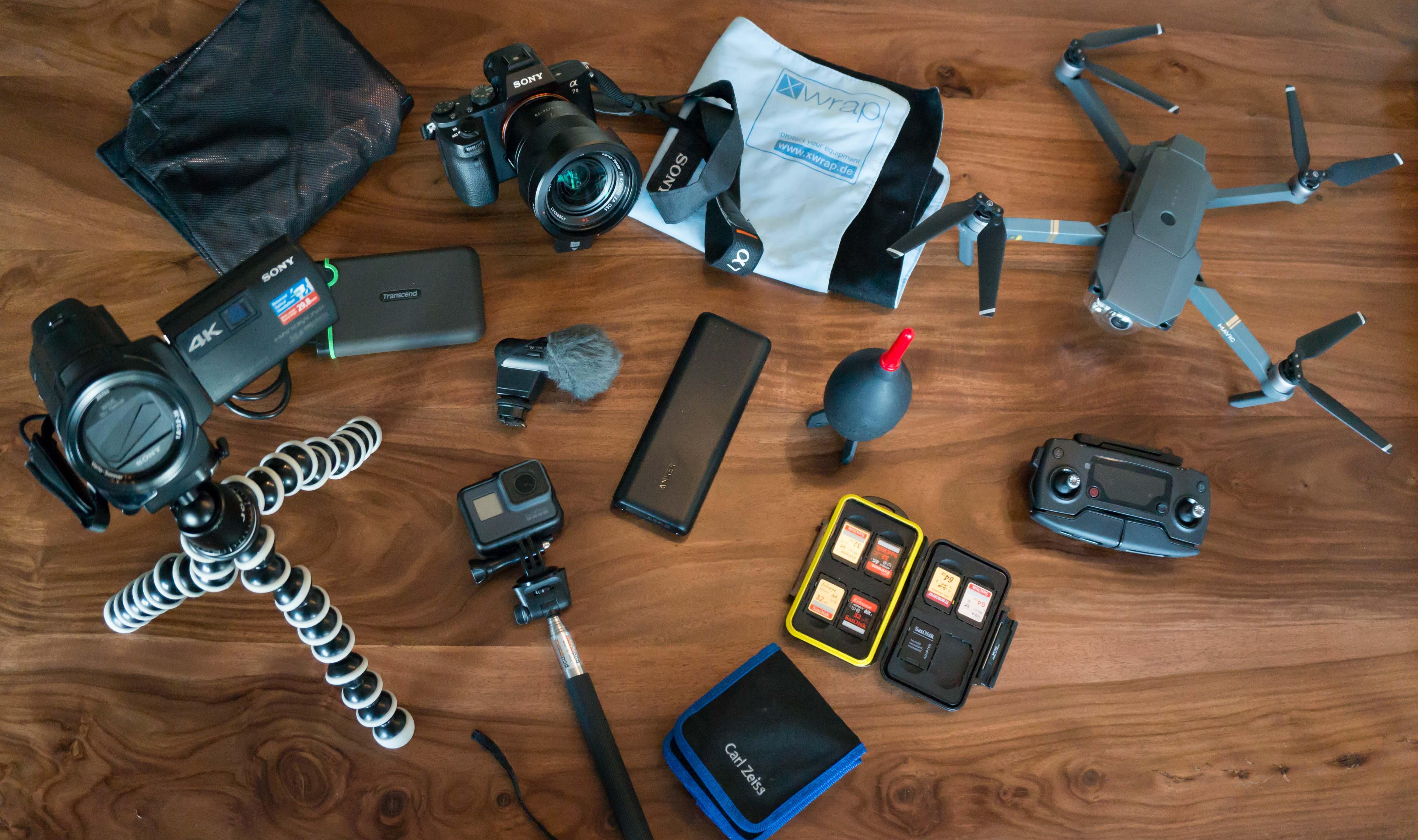 Packliste Technik
