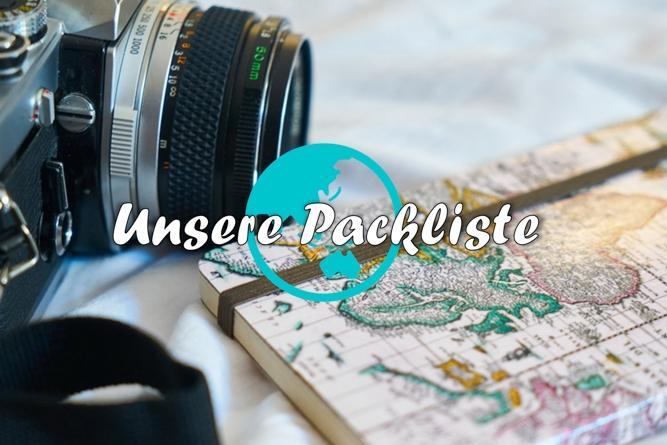 Unsere Packliste für die Weltreise (Update 2019)
