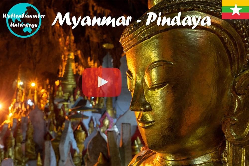 Pindaya ∙ Das gigantische Höhlenlabyrinth mit über 8000 Buddhas ∙ Myanmar ∙ Weltreise Vlog #62