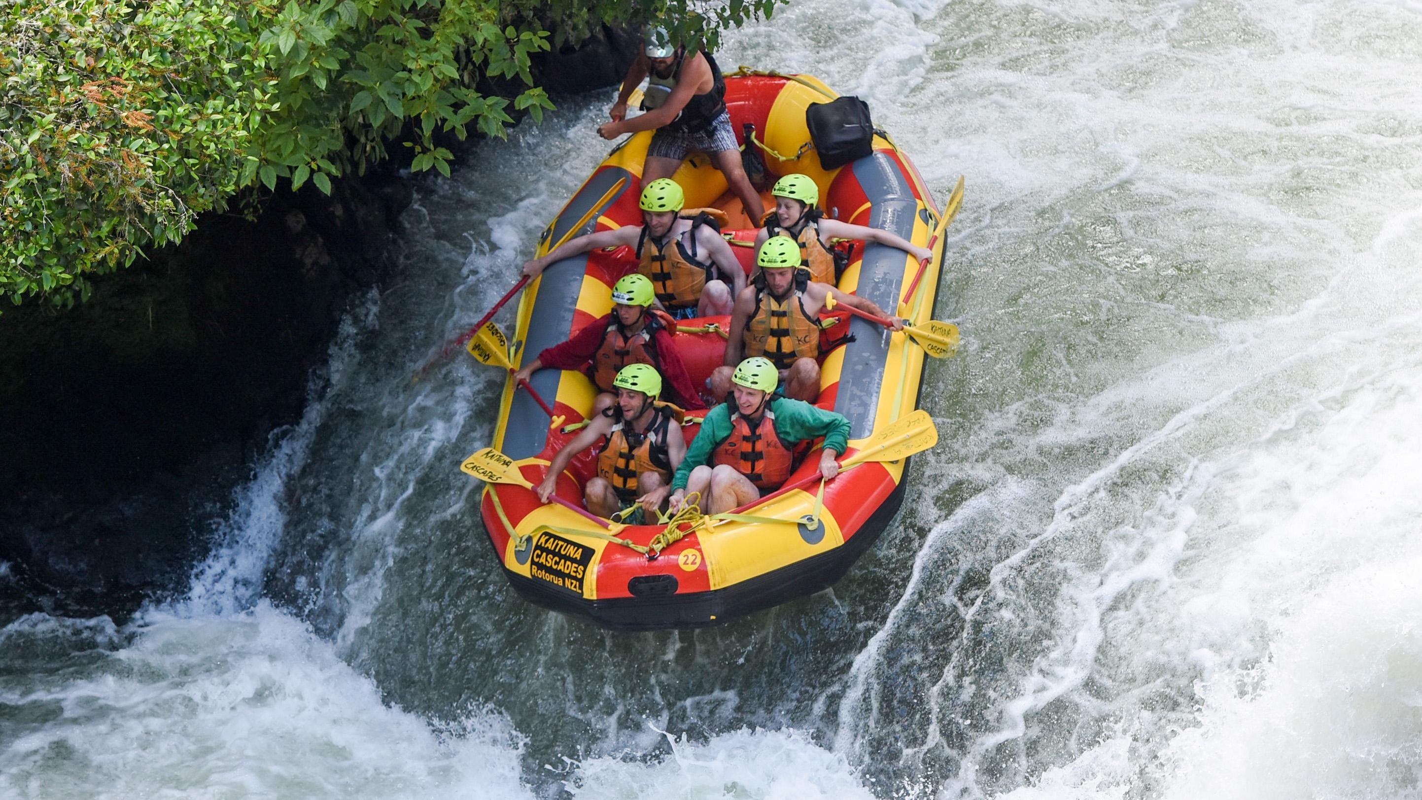 Rotorua & Tongariro – Rafting, Schwefelquellen und das unheimliche Mordor