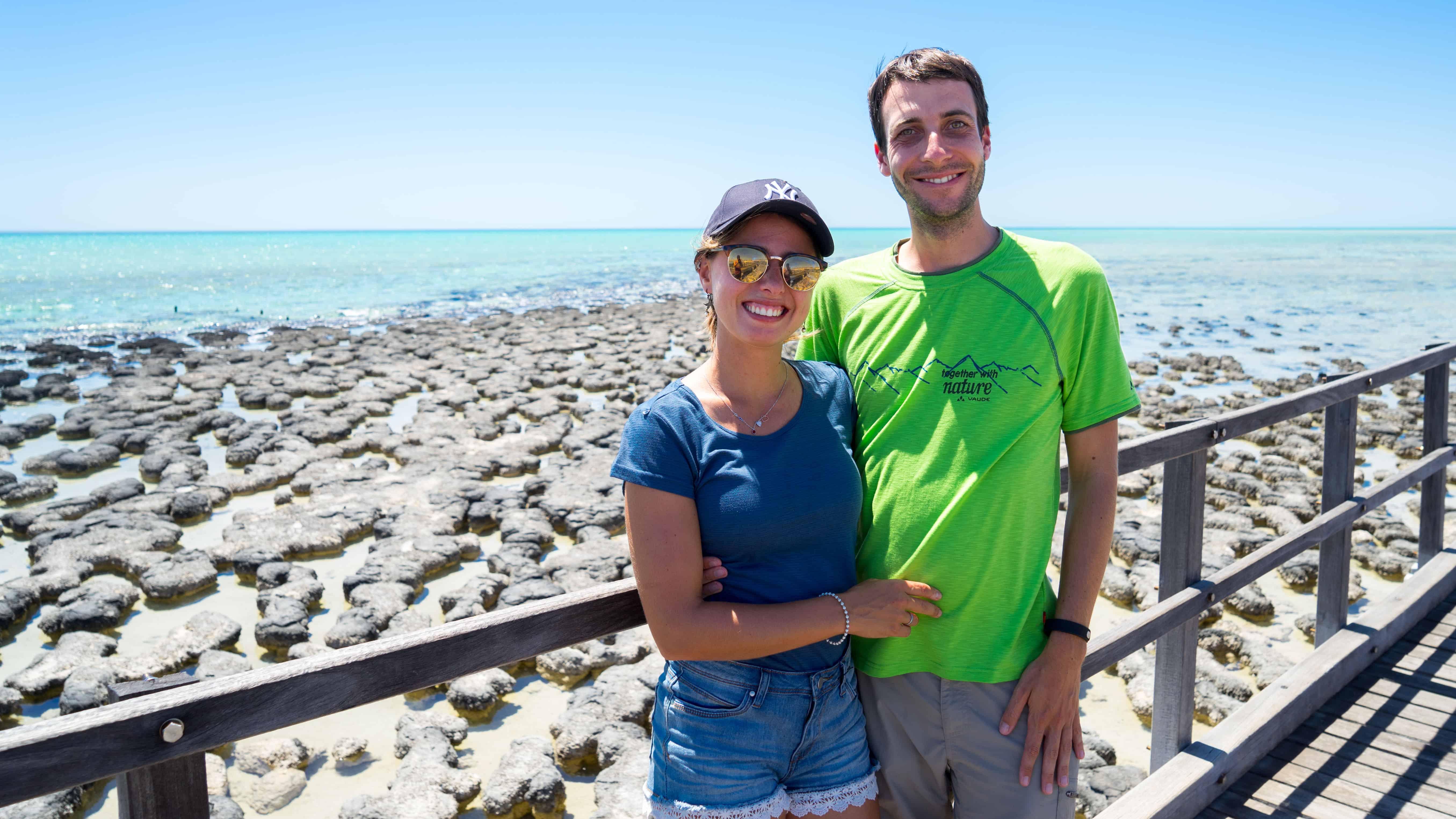 Denham & Monkey Mia –  Wir sind an der Shark Bay!