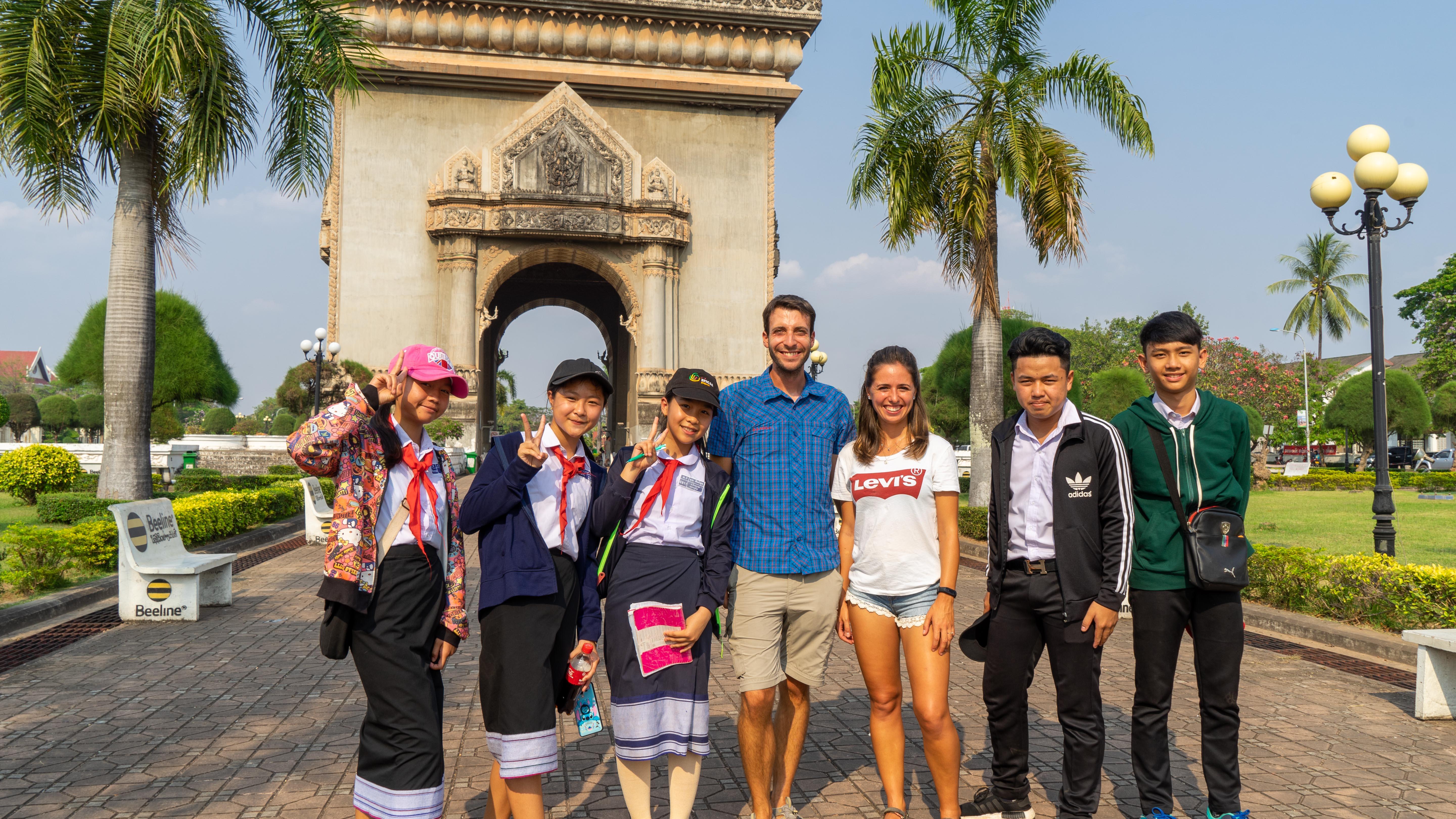 Vientiane ∙ Französische Einflüsse in der Hauptstadt ∙ Laos