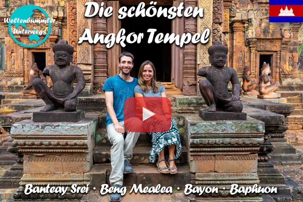 Siem Reap ∙ Die schönsten Angkor Tempel und das schwimmende Dorf Kompong Khleang ∙ Kambodscha∙ Weltreise Vlog #81