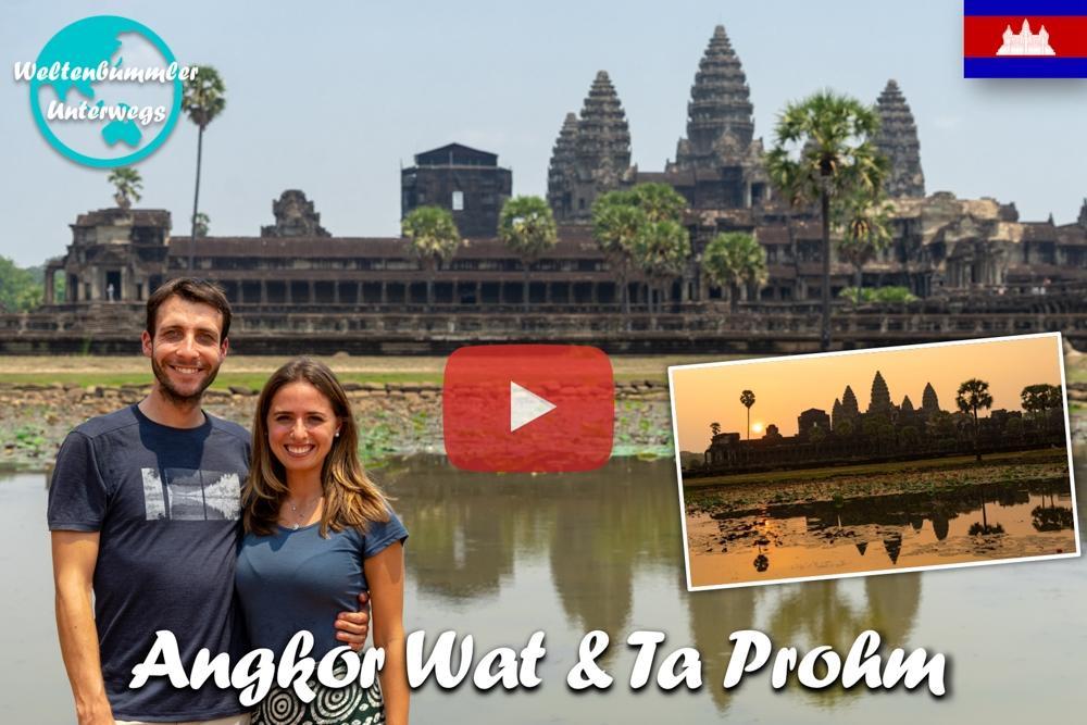 Angkor Wat & Ta Prohm ∙ Auf den Spuren von Tomb Raider ∙ Kambodscha∙ Weltreise Vlog #80