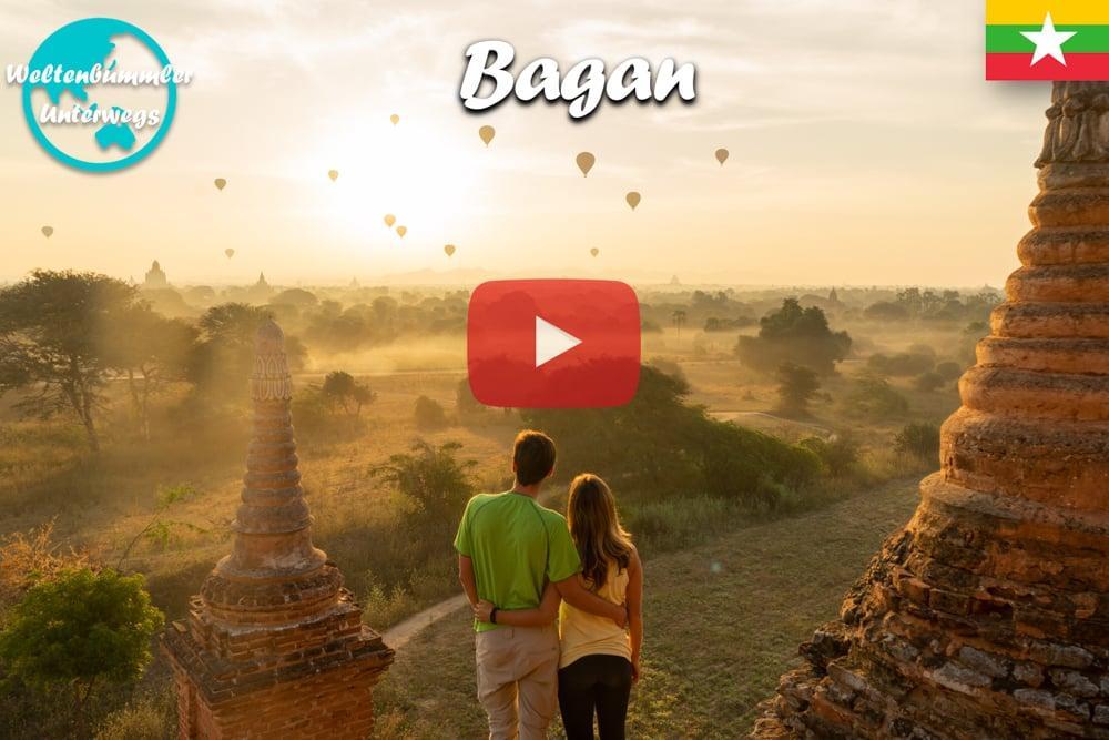 Bagan ∙ Die Stadt der zweitausend Pagoden ∙ Myanmar ∙ Weltreise Vlog #65