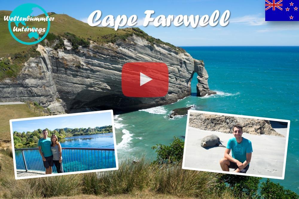 Weltreise Vlog #49: Cape Farewell ∙ Grüne Wiesen, klare Quellen und steile Küsten