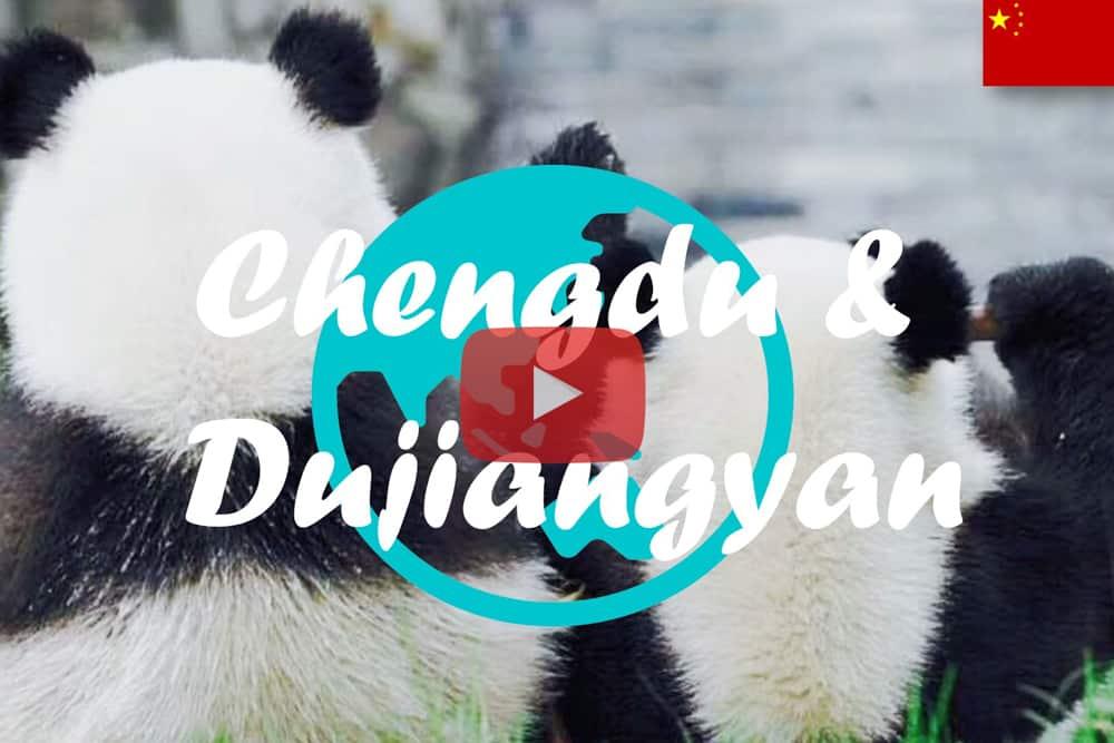 Weltreise Vlog #13: Chengdu & Dujiangyan ∙ Ganz nah an den Pandas