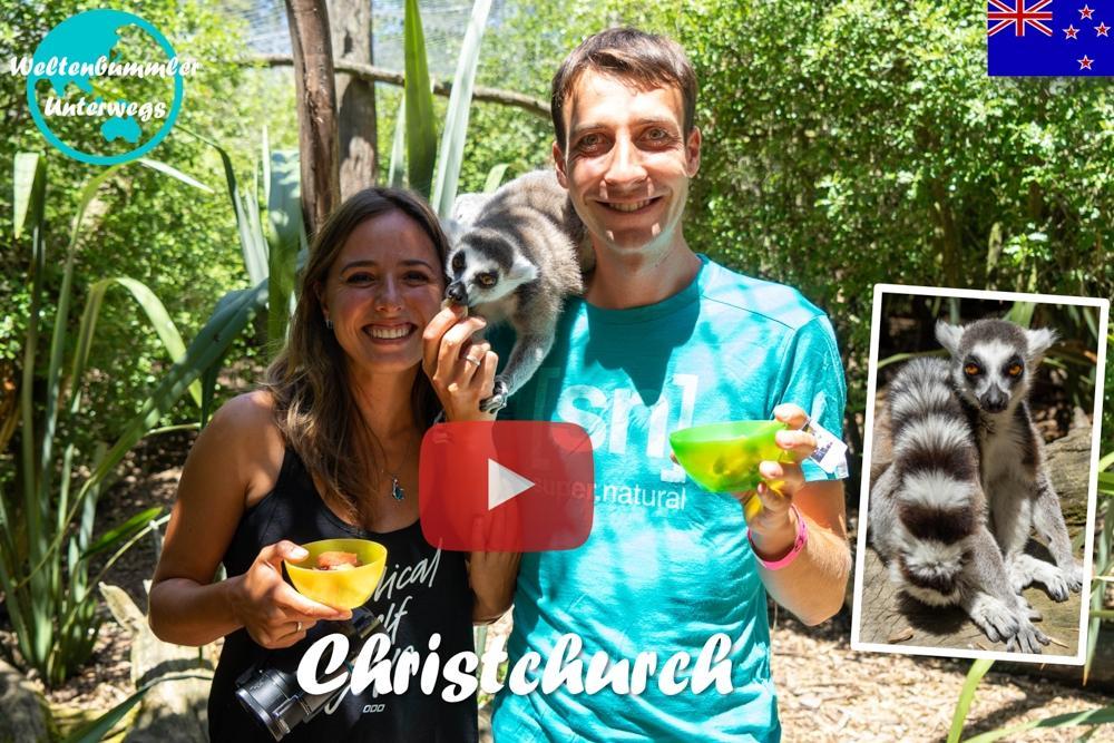 Weltreise Vlog #57: Christchurch ∙ Unser letzter Stopp in Neuseeland