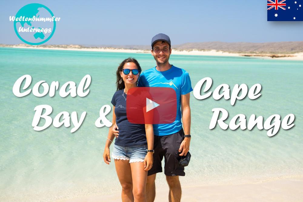 Weltreise Vlog #34: Coral Bay & Cape Range – Riesige Mantarochen und Haie