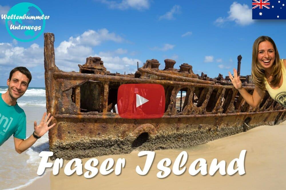 Weltreise Vlog #29: Fraser Island ∙ Die größte Sandinsel der Welt