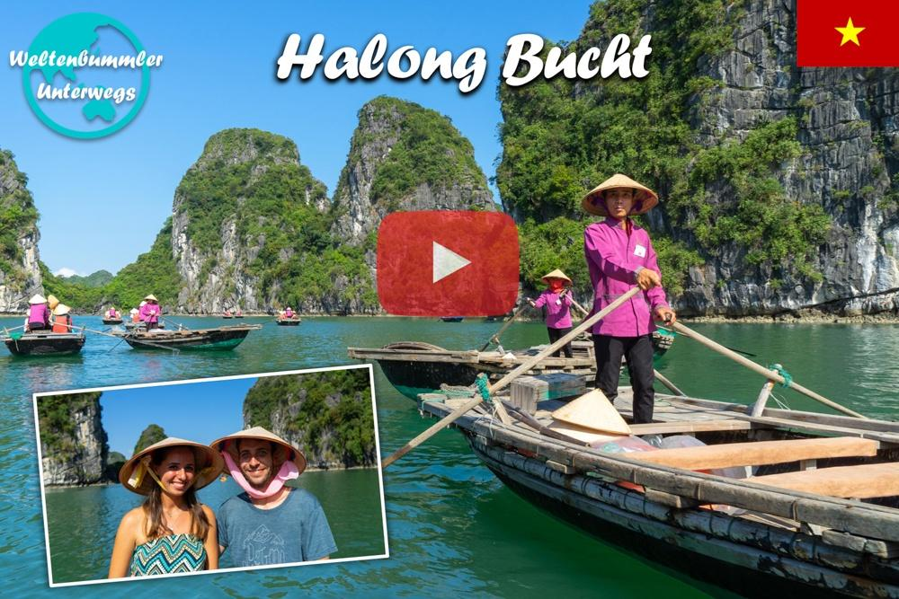 Halong Bucht ∙ 3 Tage auf dem Luxusschiff ∙ Mit der Drohne durch das Weltkulturerbe ∙ Vietnam ∙ Weltreise Vlog #97
