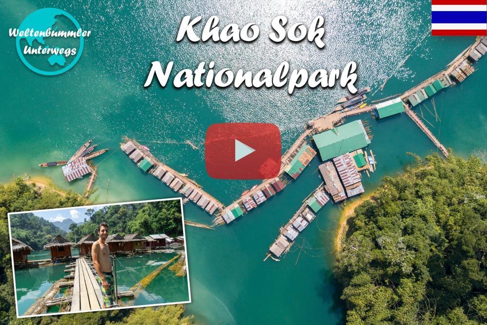 Khao Sok Nationalpark ∙ Mit dem Boot durch den Dschungel ∙ Weltreise Vlog #71