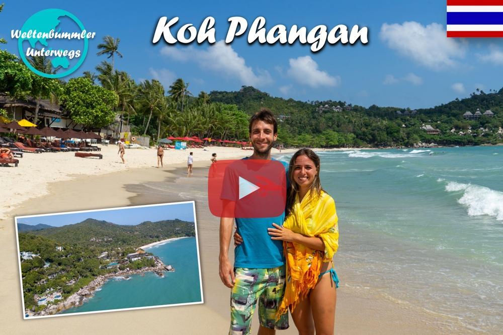 Koh Phangan ∙ Ungewohnter Luxus am weißen Sandstrand ∙ Weltreise Vlog #72