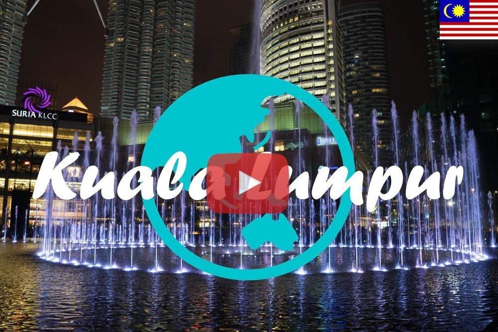 Weltreise Vlog #2 – Kuala Lumpur – Unterwegs im Großstadtdschungel