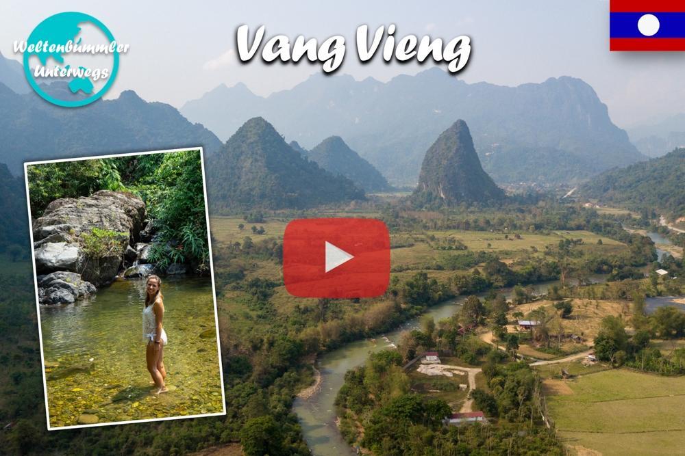 Vang Vieng ∙ Mit der Zipline durch den Dschungel ∙ Laos ∙ Weltreise Vlog #76