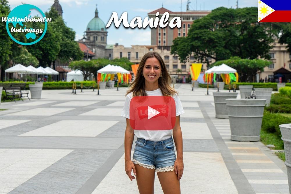 Manila ∙ Intramuros ∙ Ein Spaziergang durch die Altstadt ∙ Weltreise Vlog #90