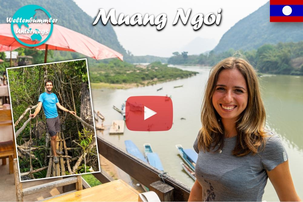 Muang Ngoi ∙ Das ruhige Leben auf den Dörfern im Norden ∙ Laos ∙ Weltreise Vlog #79