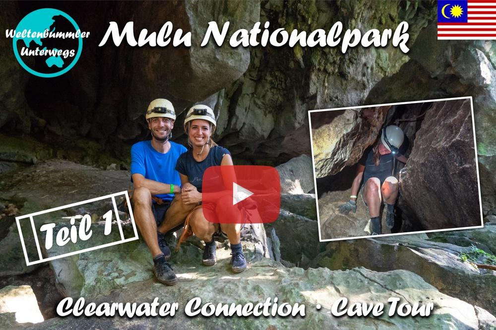 Mulu Nationalpark ∙ Die Clearwater Connection Cave Tour ∙ Teil 1  ∙ Borneo ∙ Weltreise Vlog #105
