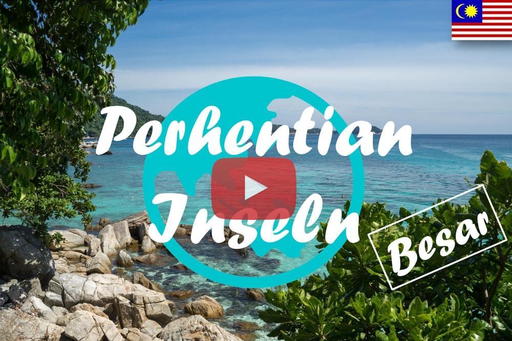 Weltreise Vlog #6 – Perhentian Islands • Besar – Rochen, Schildkröten und bunte Fische