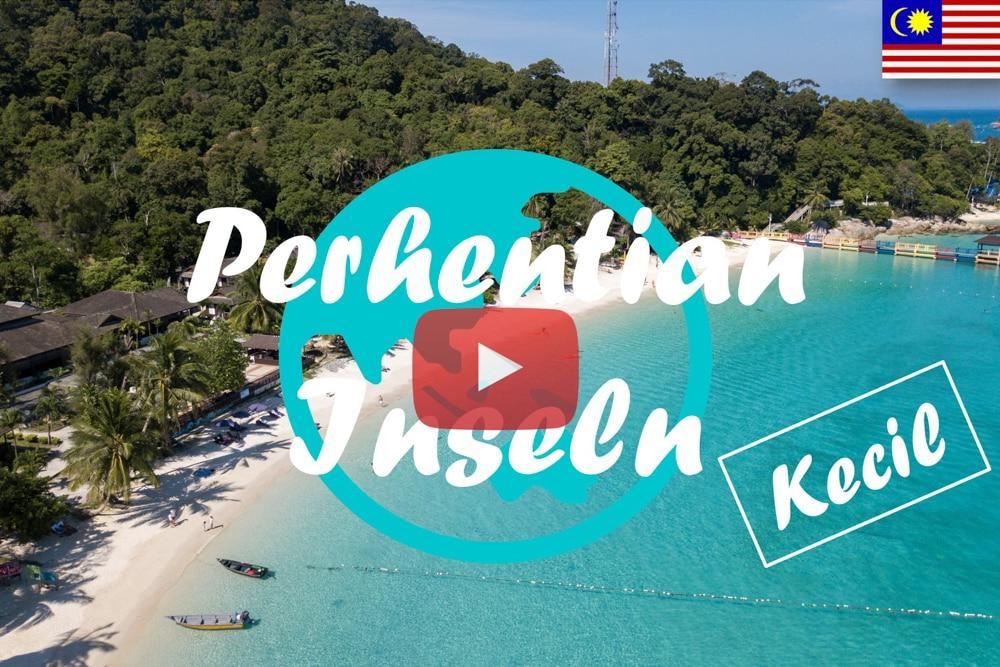 Weltreise Vlog #5 – Perhentian Islands • Kecil – Willkommen im Paradies
