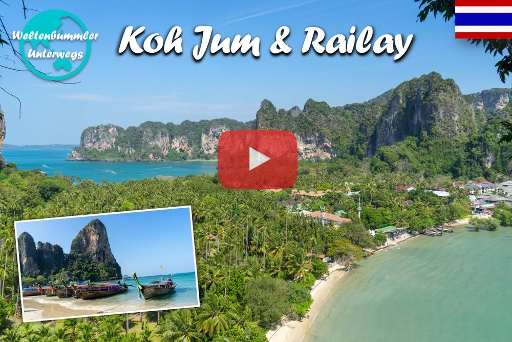 Koh Jum & Railay ∙ Einsame Strände und Massenhochzeiten ∙ Weltreise Vlog #70