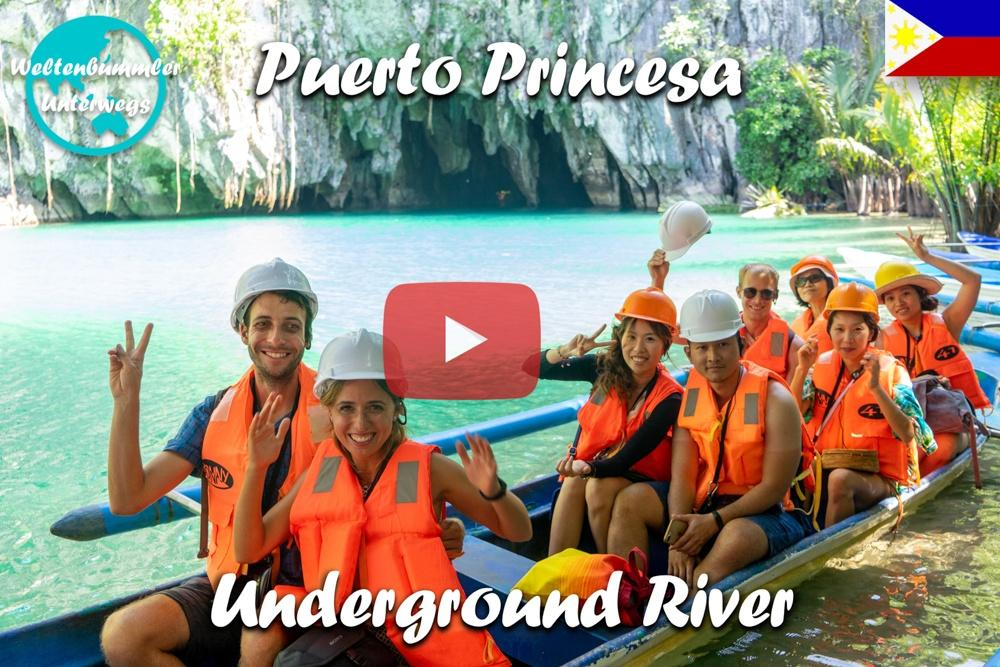 Puerto Princesa ∙ Underground River in Sabang ∙ Eines der neuen 7 Weltwunder der Natur∙ Weltreise Vlog #87