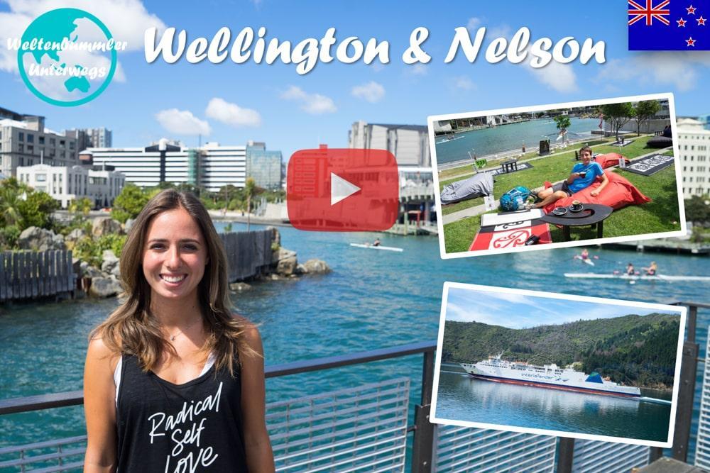 Weltreise Vlog #48: Wellington & Nelson ∙ Von der windigsten zur sonnigsten Stadt Neuseelands
