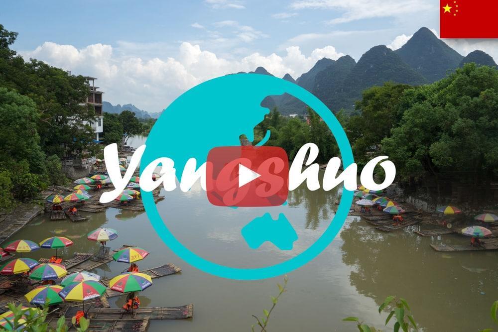 Weltreise Vlog #18: Yangshuo ∙ Mit dem Tandem durch die idyllische Landschaft Chinas