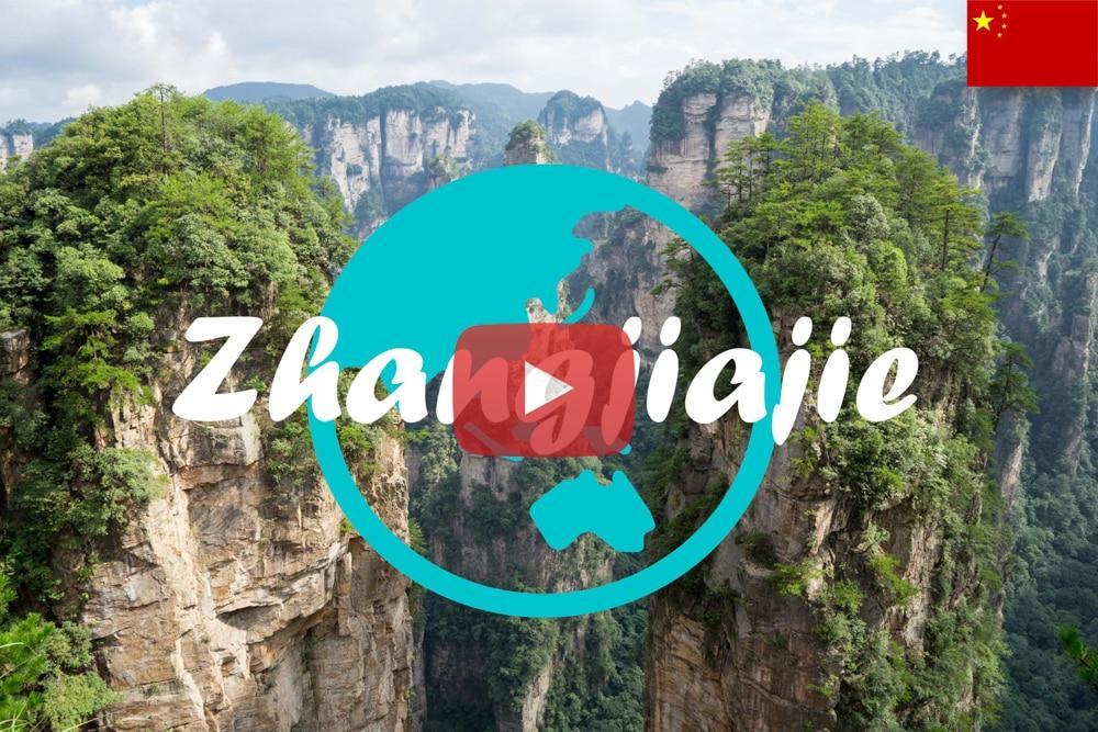Weltreise Vlog #15: Zhangjiajie – Über Glasbrücken durch die hohen Nebelberge